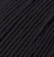 Турецкая пряжа Alize Merino Royal шерсть 100% черный №60