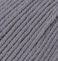 Турецкая пряжа Alize Merino Royal шерсть 100% темно-серый №87