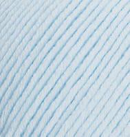 Турецкая пряжа Alize Merino Royal шерсть 100% светло-синий №480
