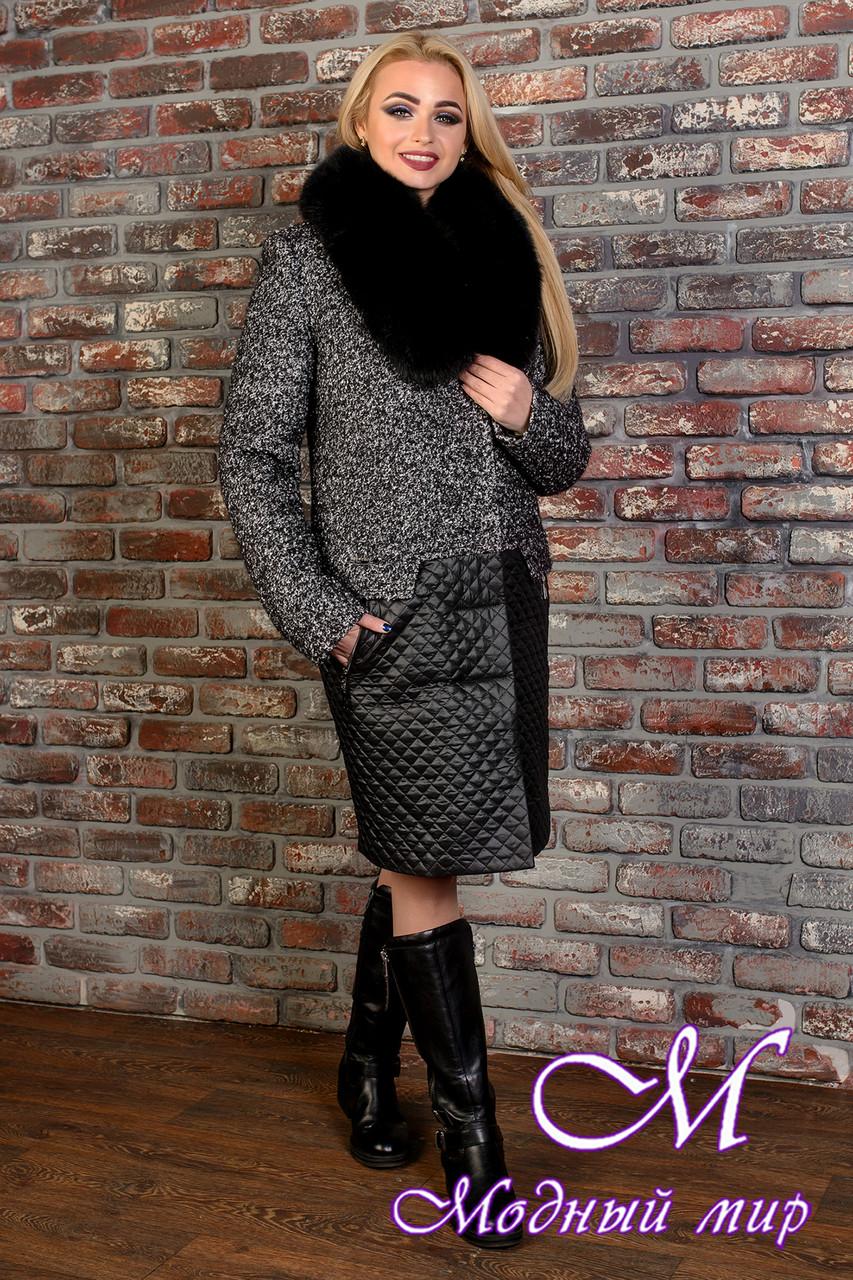 Женское зимнее теплое пальто (р. S, M, L) арт. Марли 8003