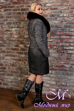 Женское зимнее теплое пальто (р. S, M, L) арт. Марли 8003, фото 2