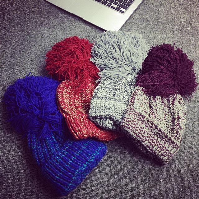 Яркая теплая шапка СС7909-75