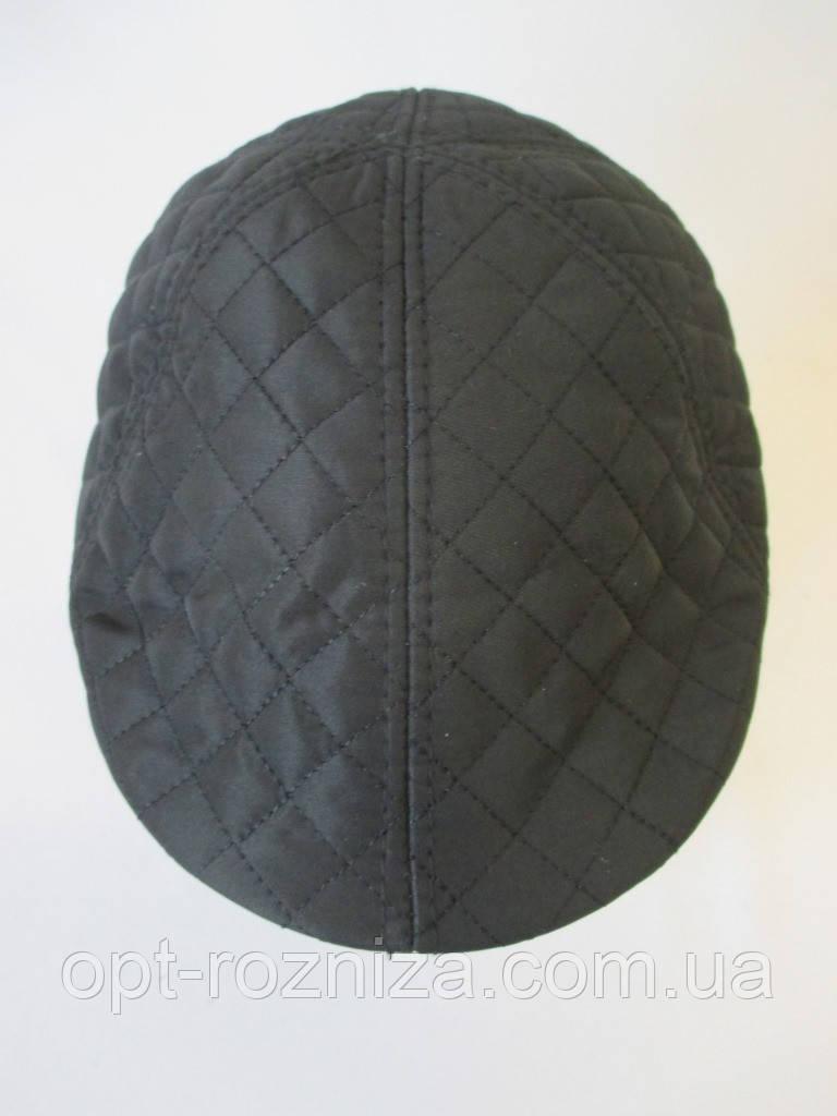 Утепленные стеганные кепки для мужчин