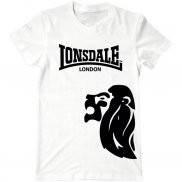 Мужская футболка летняя с принтом Lonsdale London