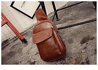 Мужская кожаная сумка. Модель 63229, фото 5