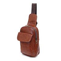 Мужская кожаная сумка. Модель 63229, фото 3