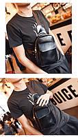 Мужская кожаная сумка. Модель 63229, фото 6