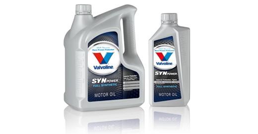 Синтетическое моторное масло Valvoline SYNPOWER 5w-30 4L