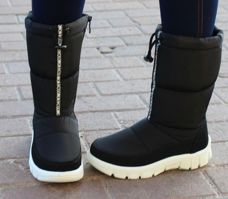 e5f39d2113b8 Женские зимние сапоги дутики Принт, дутики женские - Интернет-магазин обуви  Bootlords в Киеве