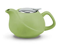 Заварочный чайник 17х14х11см/0.75л с ситечком керамический Fissman