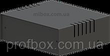 Корпус металевий MB-4 (Ш150 Г130 В50) чорний, RAL9005(Black textured)