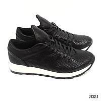 Женские низкие кроссовки из кожи модель 7132.1 (38, 39)