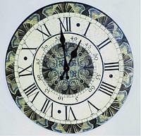 """Часы настенные """"Римские цифры"""" (34 см) из МДФ"""