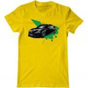 Мужская футболка с принтом Toyota concept