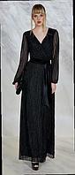 Красивое черное вечернее платье Guitar