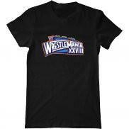 Мужская футболка с принтом WrestleMania XXVIII