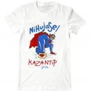 Мужская футболка с принтом Супермен Казантип
