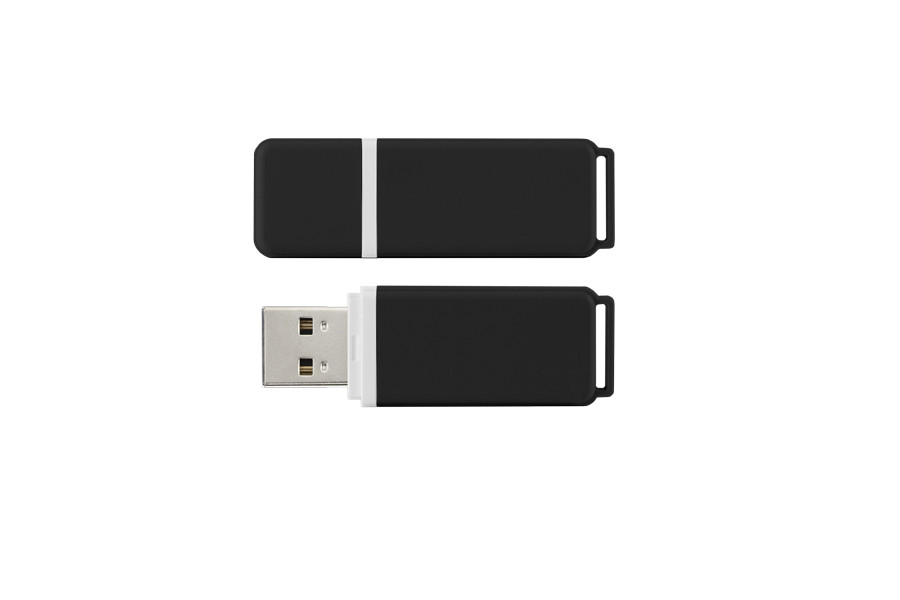 Флеш-накопичувач USB 2.0 8Gb GOODRAM UMO2 Graphit bulk