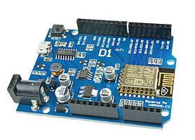 Модуль arduino D1 WiFi UNO R3 ESP8266 ESP-12E IDE