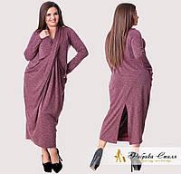 Оригинальное женское платье, батал