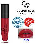 Рідка помада Golden Rose Longstay liquid matte №9, фото 2