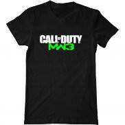 Мужская футболка с принтом Call of Duty