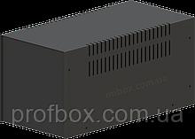 Корпус металевий MB-12 (Ш160 Г325 В160) чорний, RAL9005(Black textured)