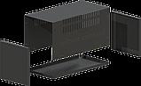 Корпус металевий MB-12 (Ш160 Г325 В160) чорний, RAL9005(Black textured), фото 2