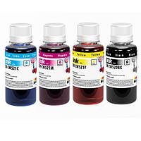 Комплект чернил ColorWay Canon PG-510/CLI-521, 4x100 мл + Чернила CW-CW520BK01 в подарок ! (CW-CW520BK02/CW521SET01)