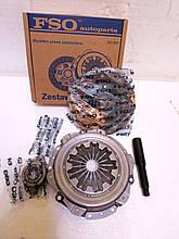 Комплект сцепления ( диск + корзина с выжимным ) FSO на Славуту, Таврию, Сенс