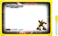 Доска магнитная, сухостираемая, А4  + маркер KITE 2013 Transformers 146 (TF13-146К)