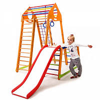 Детский спортивный комплекс Sportbaby BambinoWood Color Plus 1-1