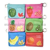 Детский кошелёк объёмный аппетитные фрукты  (24)
