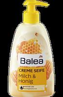 ЖИДКОЕ МЫЛО Balea Flüssigseife Milch & Honig, 500 ml, Германия (Балеа) с дозатором
