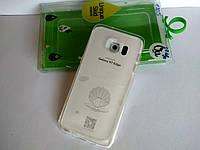Оригинальный силиконовый чехол бампер для Samsung Galaxy S7 Edge G935F
