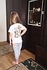 Классные летние полосатые серые костюмы для мальчика, фото 4