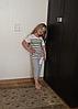 Классные летние полосатые серые костюмы для мальчика, фото 6