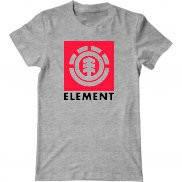 Мужская футболка с принтом Element