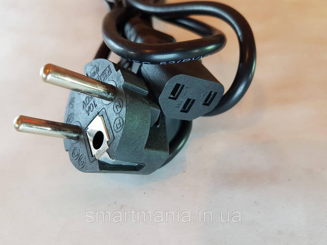 Сетевой шнур для весов, кабель питания, шнур сетевой компьютера, весов 1.5м евровилка