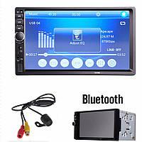 "Автомагнитола 2Din Pioneer 7018CRB с Экраном 7"" дюймов сенсор + USB, SD, FM, Bluetooth+КАМЕРА!"