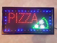 """Светодиодная LED вывеска """"Пицца"""" 48 Х 25 см"""