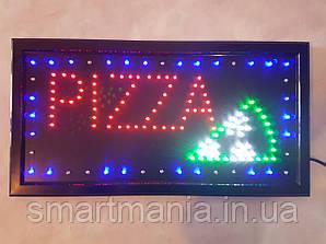 """Світлодіодна вивіска LED """"Піца"""" 48 Х 25 см"""