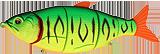 Воблер Strike Pro Gill Raker 80S 12.9гр GC01S