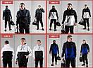 Мужской анорак + спортивные штаны черного цвета, фото 4