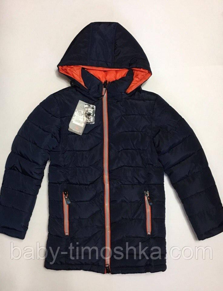 Зимняя куртка для мальчика 128-134 см
