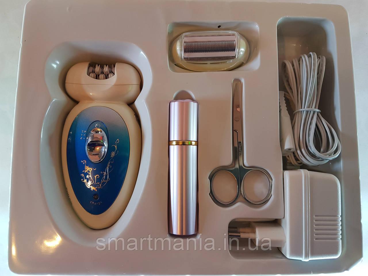 Эпилятор женский бритва Philco с насадками и маникюрным набором