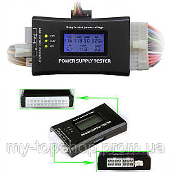 EZ харчування Тестер харчування з РК-дисплеєм напруги power supply tester