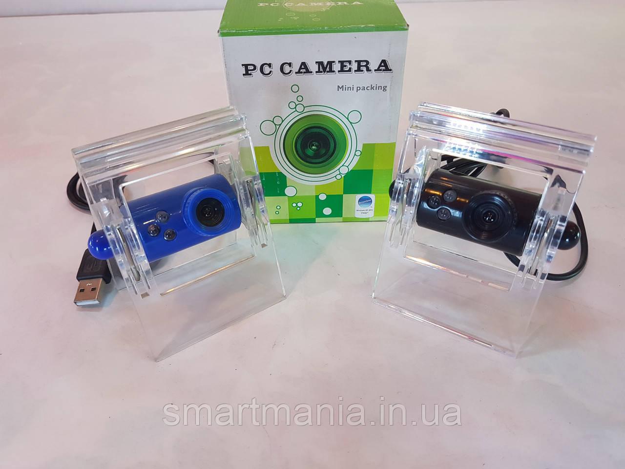 Веб-камера прищепка, с подсветкой (без микрофона)