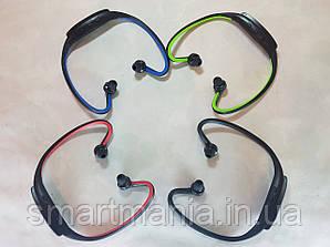 Беспроводные наушники mp3 плеер  для спорта