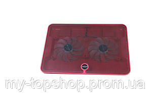 Охлаждающая подставка для ноутбука с двумя кулерами Hongtai